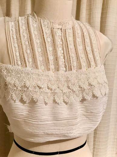 Making an Edwardian Inspired Blouse by The Vintage Couturiere