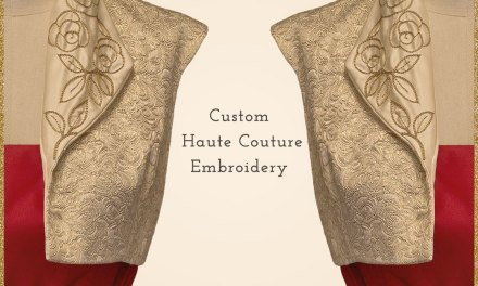 Why Haute Couture Embroidery is the Epitome of Elegance