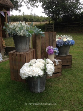 Hire Vintage Crates in Devon