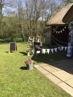 Bunting and Bcukets