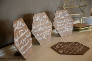 Wood Chalk Signs made by TLC Engraving