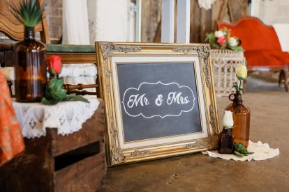 Sign and Lettering by The Event Styling Company