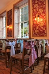 Pastel bunch sashes at No4 Clifton Village by The Vintage Sash Company