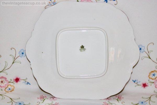 Aynsley Anemone Cake Plate