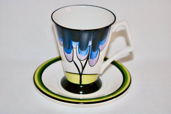 Elmfield Art Deco Mug and Saucer