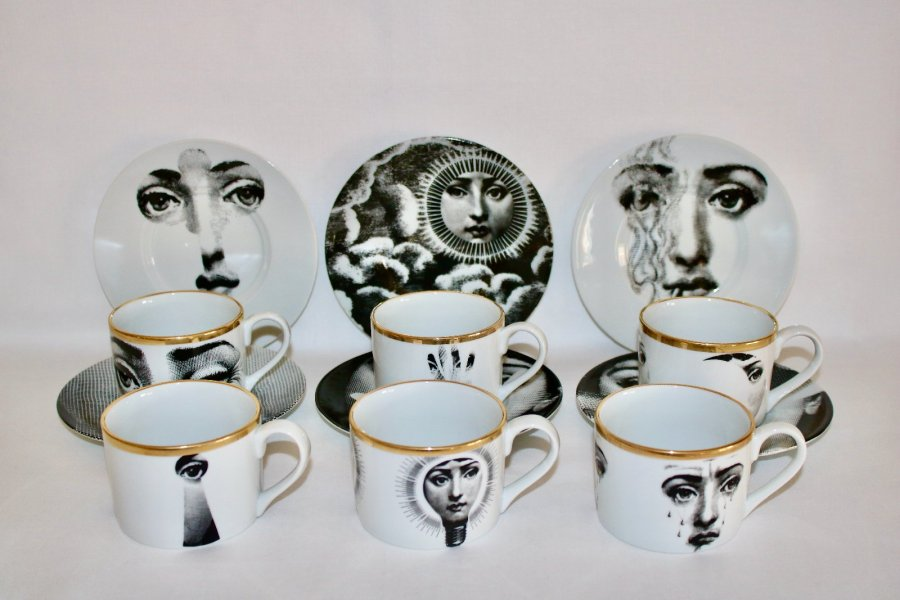 Fornasetti cups