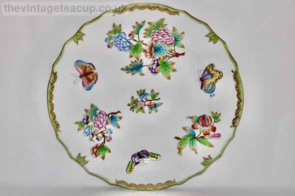 Herend Queen Victoria Dinner Plate