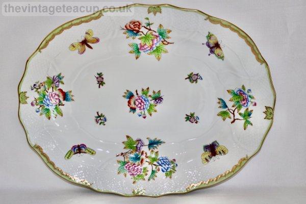Herend Queen Victoria Large Platter
