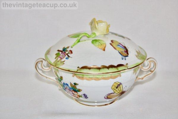 Herend Queen Victoria Lidded Soup