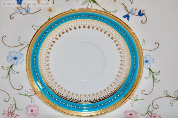 Minton Turquoise trio