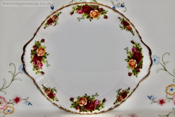 Royal Albert Old Country Roses Cake Plate