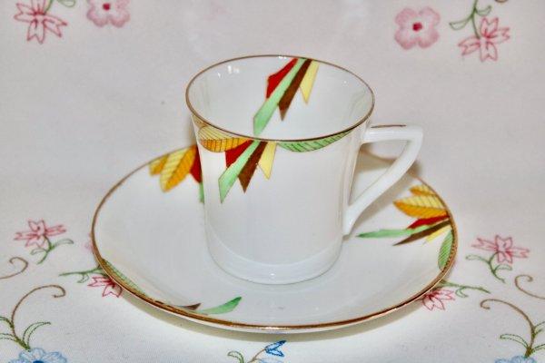 Radfords Art Deco Duo coffee cup