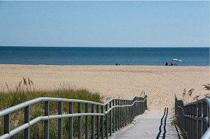 North End beach access close to the listing I sold on 79th Street.
