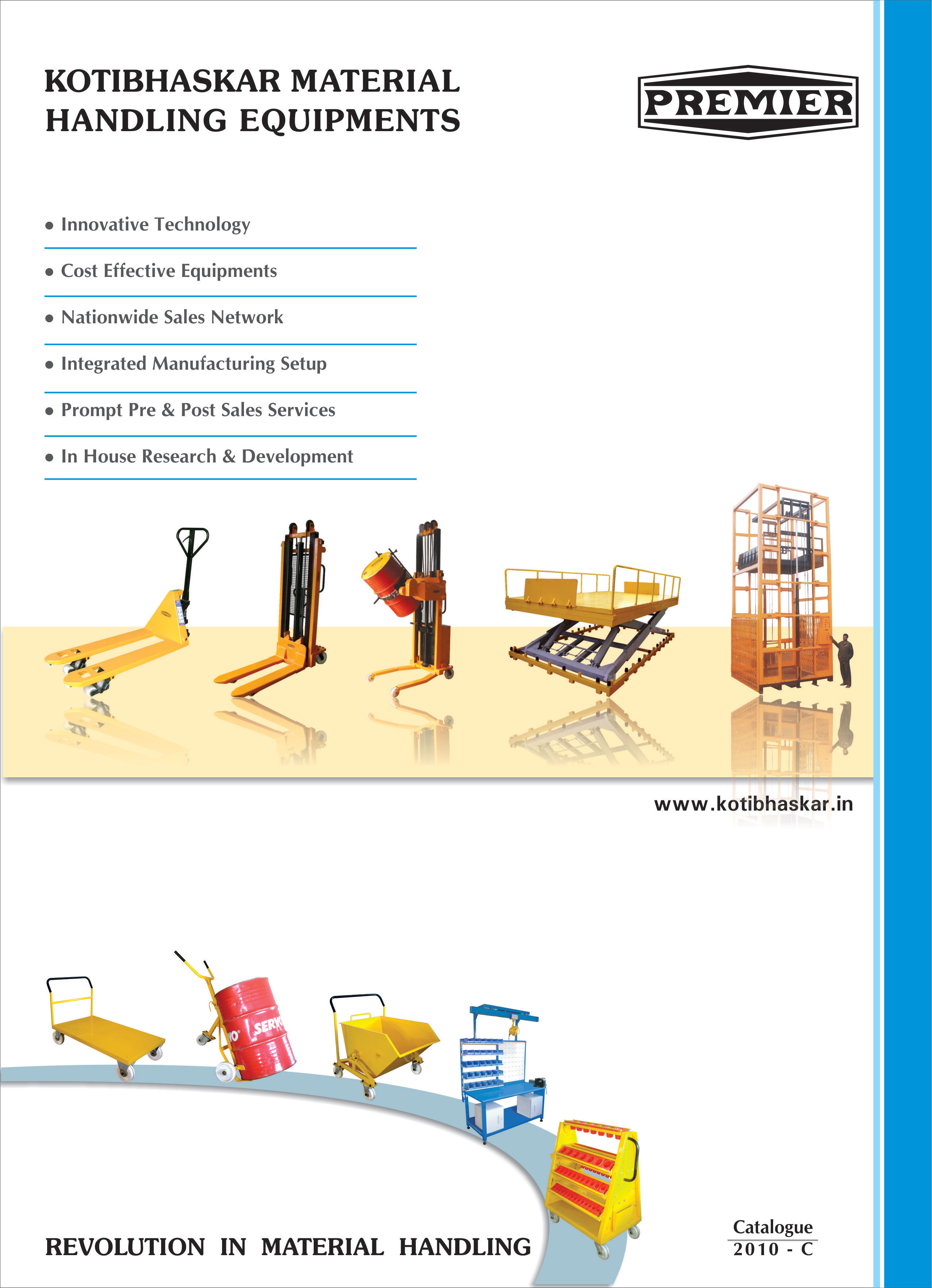 catalogue-premier-material-handling-graphic-design