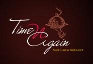 time-n-again-multi-cuisine-restaurant-logo-graphic-design