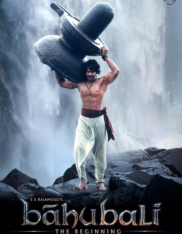 prabhas bahubali shiva waterfall