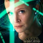 star wars the force awakens character  poster princess leia