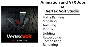 animation and vfx jobs at vertex volt studio
