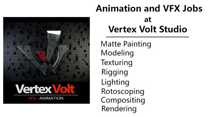 animation and vfx jobs at vertex volt studio