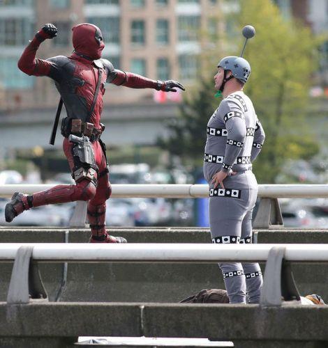 deadpool colossus motion capture suit