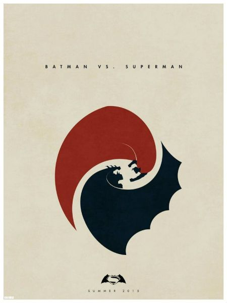 fan made movie posters batman superman