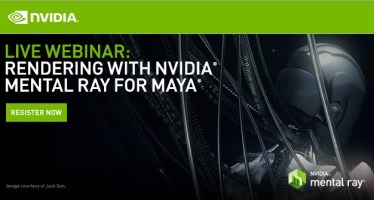 mental ray for maya webinar