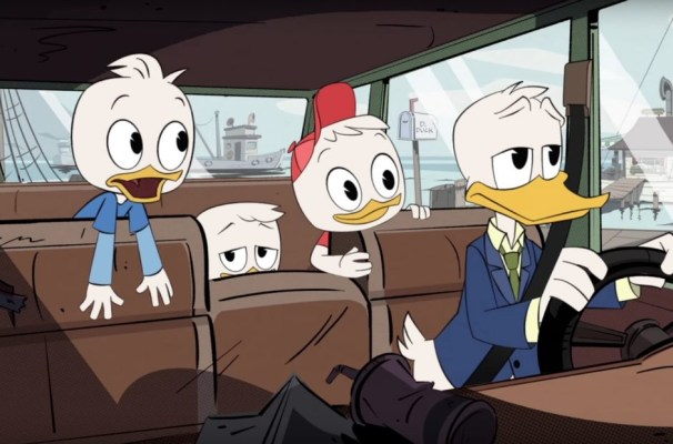 donal duck ducktales 2017