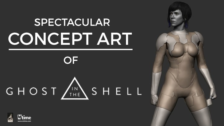concept art of ghost in the shell