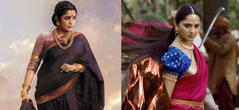 Devasena and Sivagami Anushka Shetty Ramya Krishnan