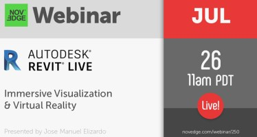 Virtual Reality Webinar revit Immersive Visualization