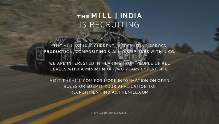 The Mill India road show