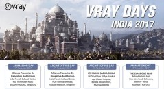 V Ray Days India 2017 Mumbai Bangalore