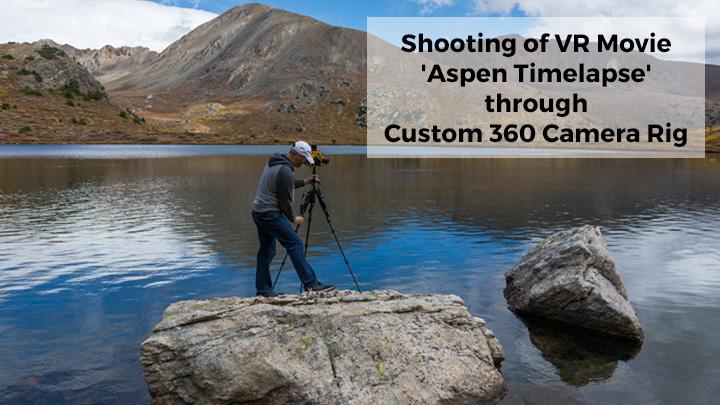 custom 360 camera rig