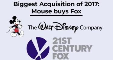 Disney buys Fox 52 billion