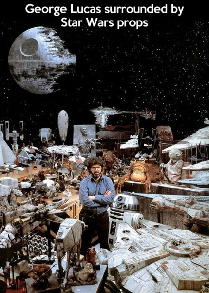 star wars miniatures george lucas