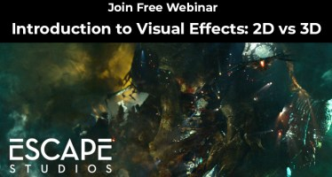 Introduction to Visual Effects 2D vs 3D webinar