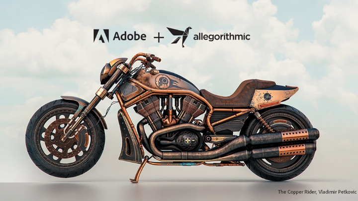 Adobe acquires Allegorithmic substance texture software