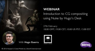 Introduction to CG compositing using Nuke webinar Hugo Guerra