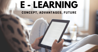 E learning apps concept advantages future