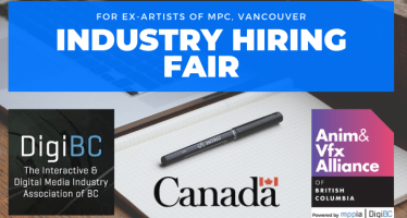 industry hiring fair for vfx artists of MPC Vancouver