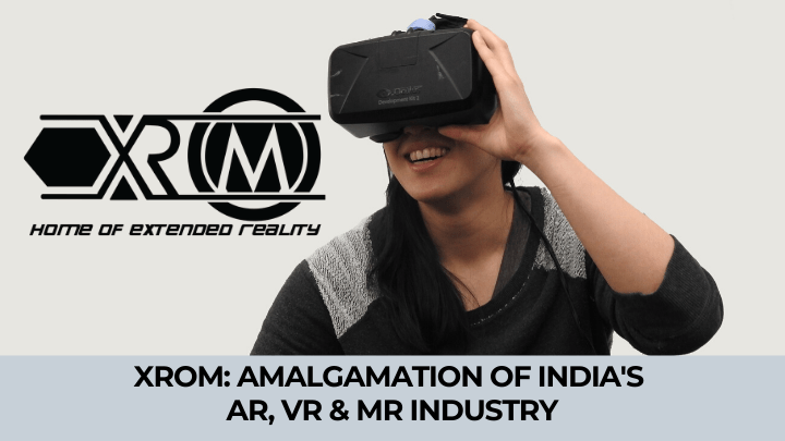 what is xrom ar vr mr website India