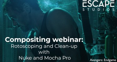 Roto and Cleanup with Nuke and Mocha Pro compositing