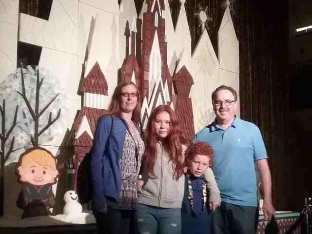The morris's at Disney