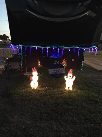 RV Christmas decor