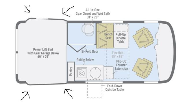 winnebago revel floor plan