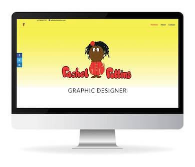 rachel rollins graphic designer website