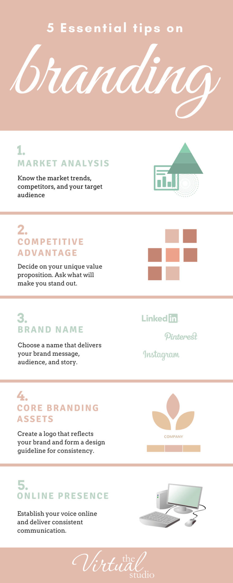 5 essential tips on branding