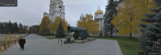 Cannon outside Dormition Cathedral, Moscow, Russia