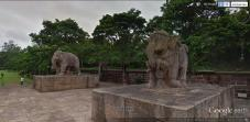 Elephant statues at Konark Sun Temple, India