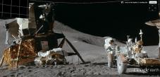 Apollo 15 Landing Site on the Moon